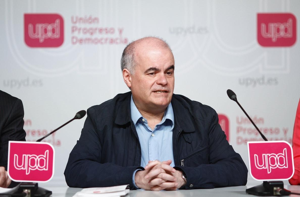 Gorriarán (UPyD) dice que la salida de Toni Cantó era previsible y estaba «Cantao»