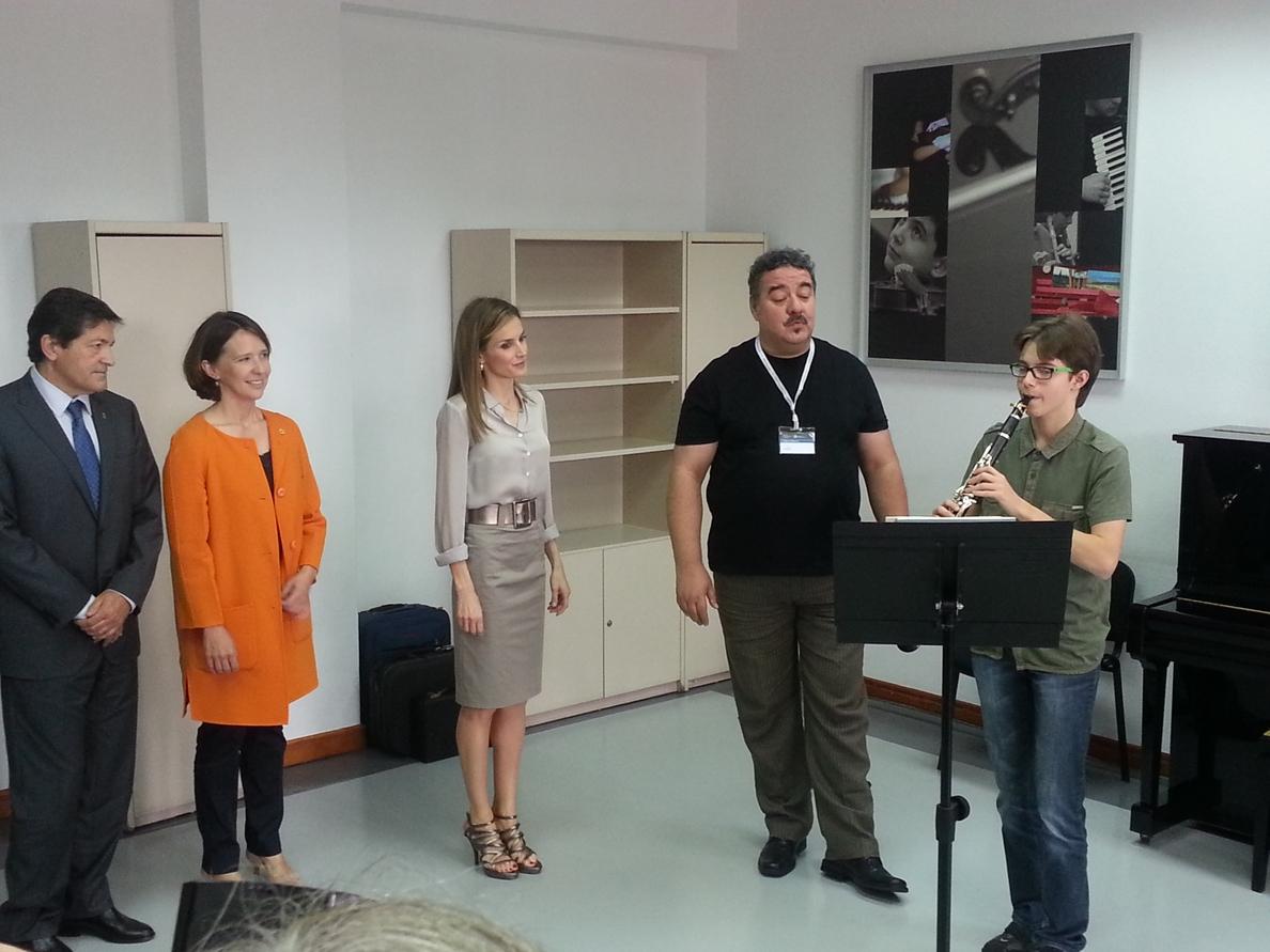 La Reina Letizia preside hoy la inauguración de los Cursos de Verano de la Escuela Internacional de Música de Oviedo