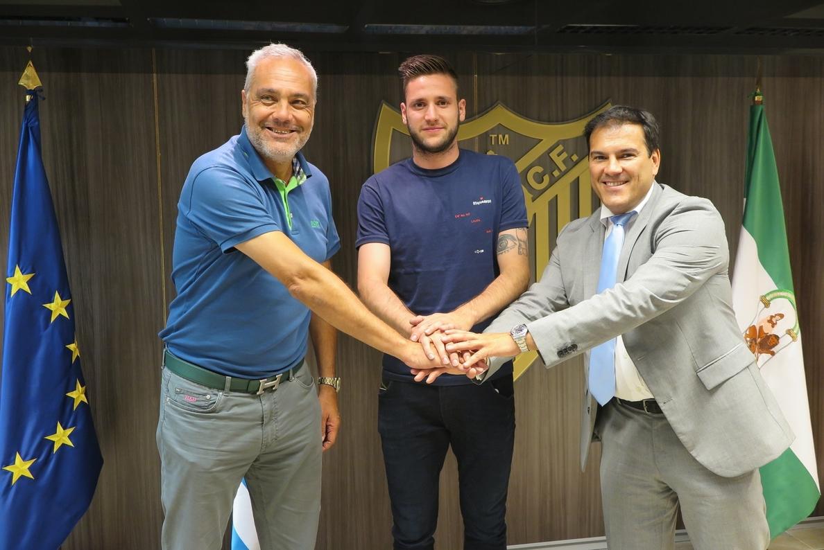 El Málaga acuerda con el Cagliari la cesión del delantero croata Duje Cop
