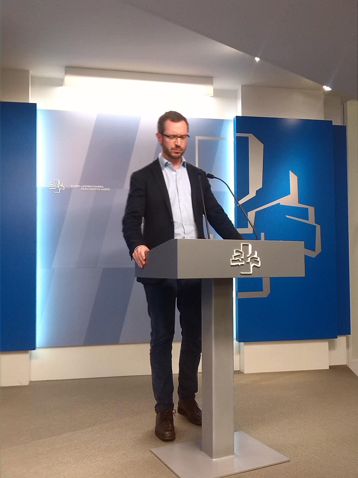 Maroto(PP) dice que Fomento incluirá en los PGE la transformación de la estación de tren de Dato para la llegada del TAV
