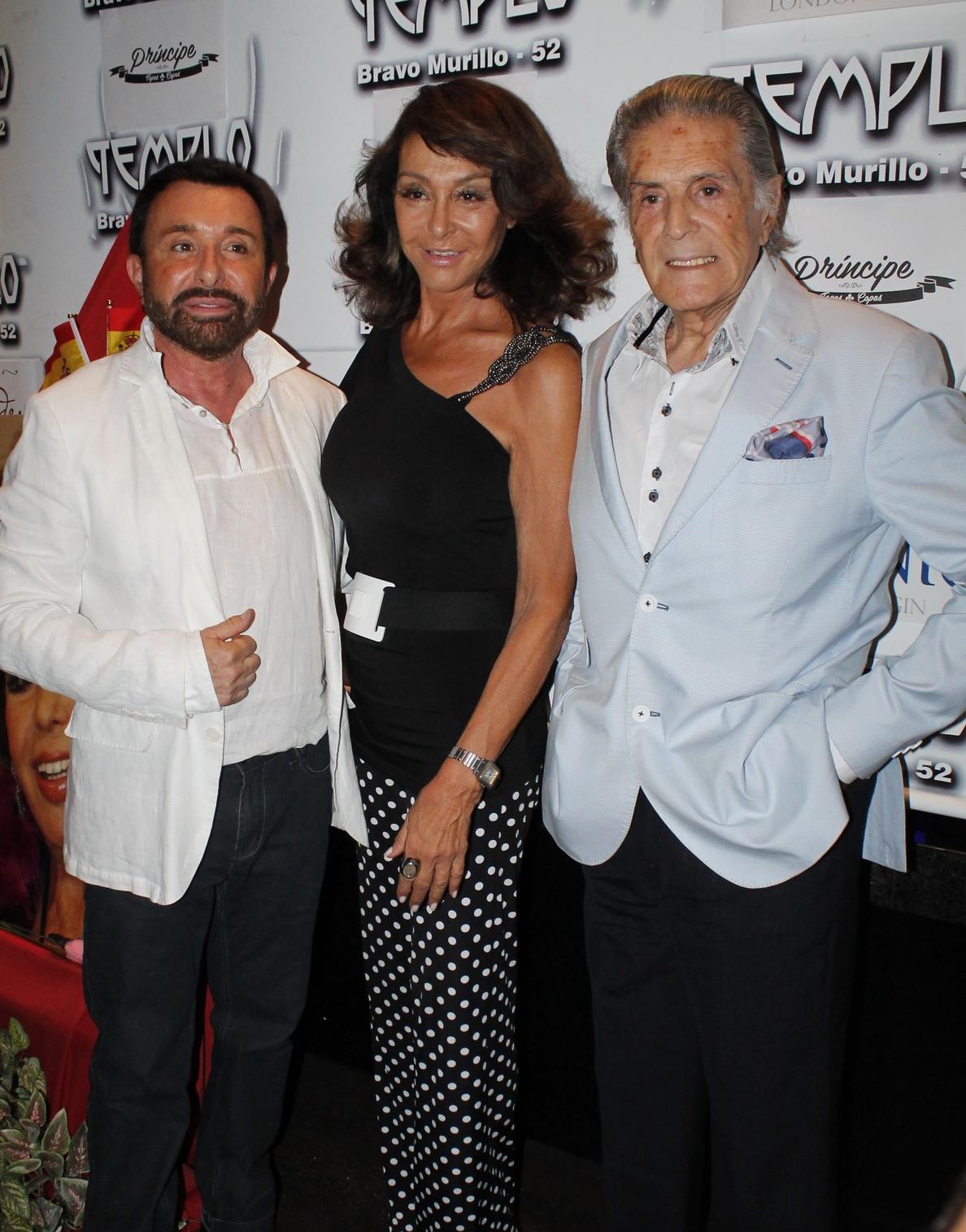 Los amigos de Marujita Díaz le rinden homenaje muy especial