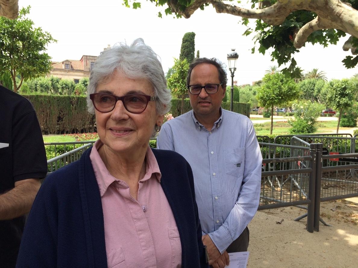 Muriel Casals deja la presidencia de Òmnium Cultural