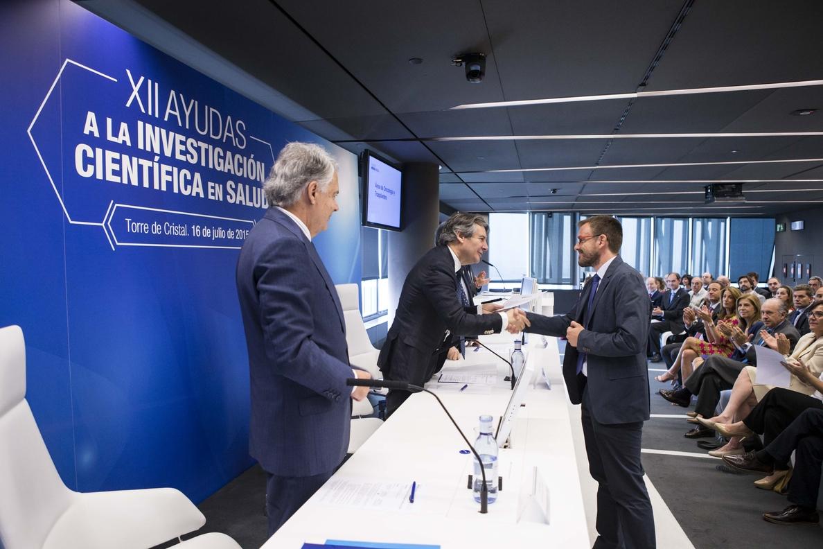 Mutua Madrileña destina más de 125.000 euros a un proyecto de investigación en el Instituto de Biomedicina