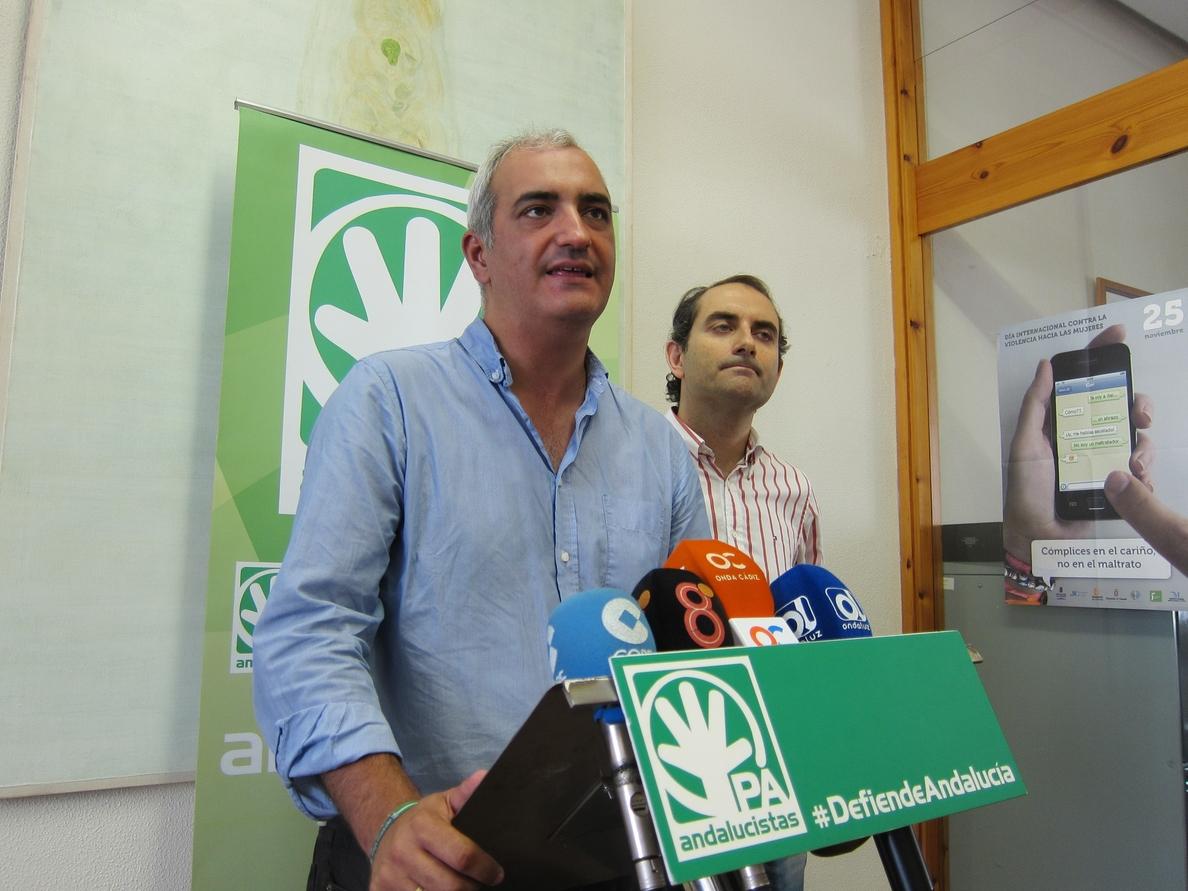 El PA prevé celebrar «a finales de agosto» una segunda convención para debatir sobre el futuro del andalucismo