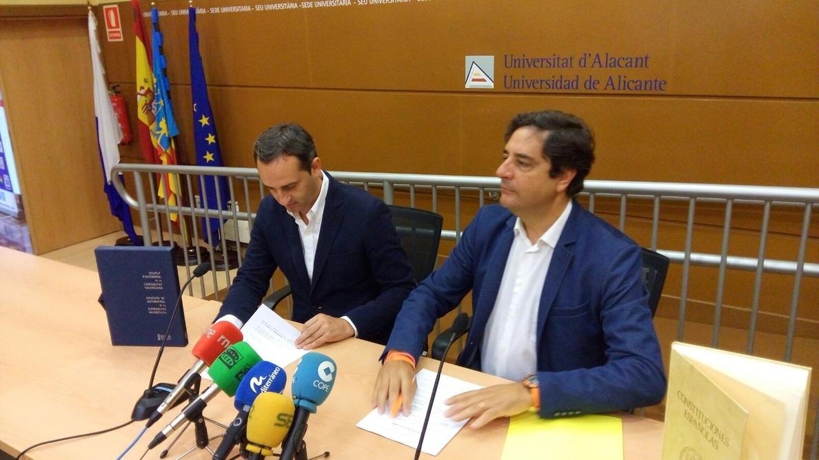 El PP presidirá la Diputación de Alicante gracias a un acuerdo con C»s centrado en evitar la corrupción