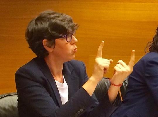 Pilar Lima confía en que ser la primera senadora sorda permita «cambiar los prejuicios en oportunidades»