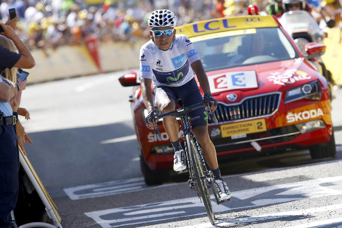Quintana: «El Tour no termina hasta el último día de montaña»