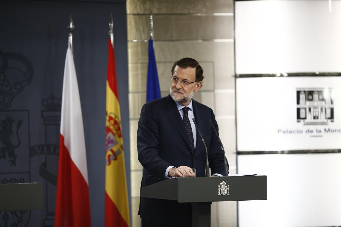 Rajoy avisa a Mas que el Estado está «preparado» para cumplir la ley