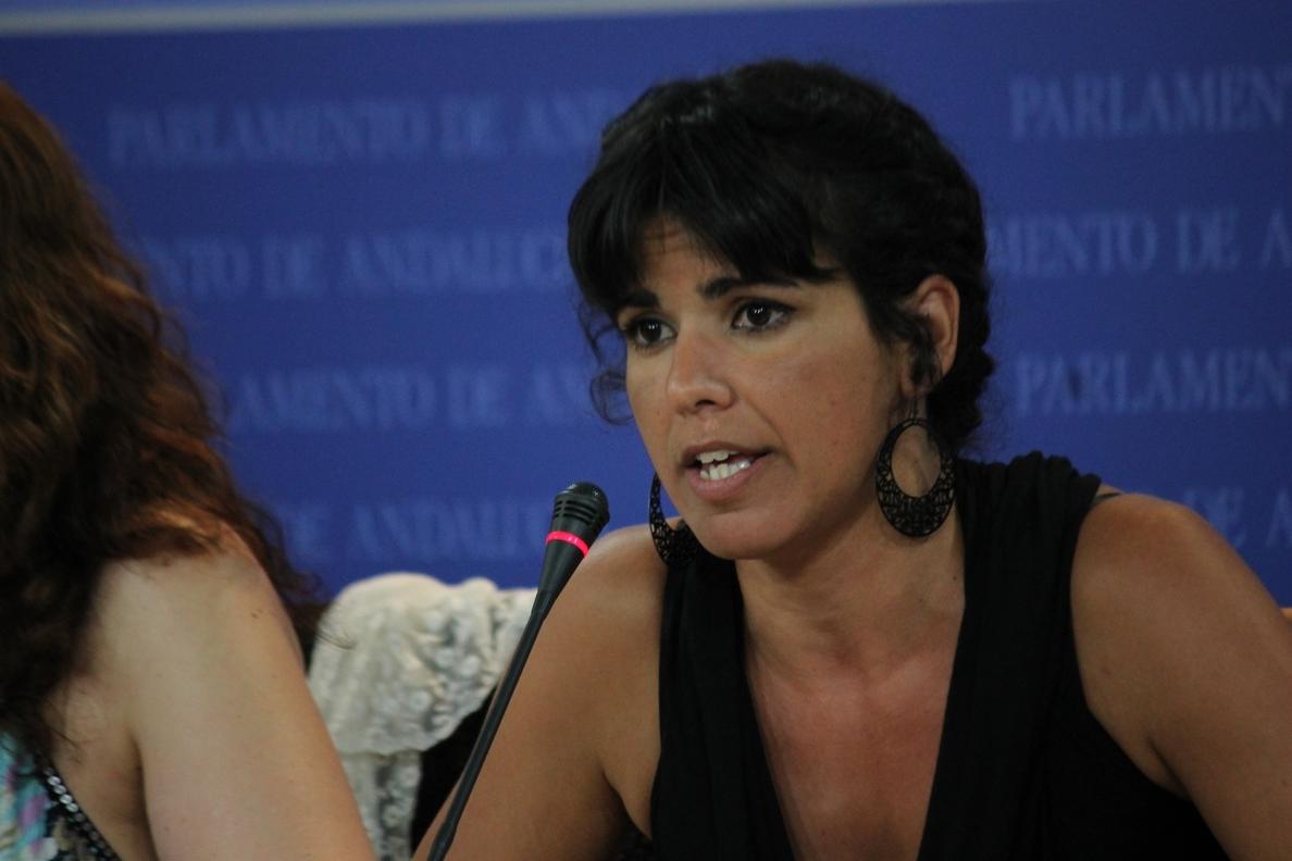 Rodríguez (Podemos) descarta confluencia de la izquierda en Andalucía «desde las siglas»