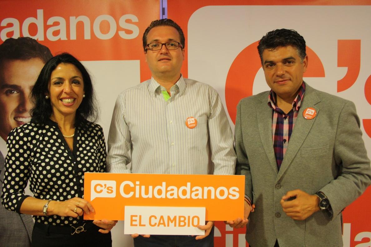 El coordinador local de C»s en Roquetas de Mar, Diego Clemente, liderá la candidatura al Congreso