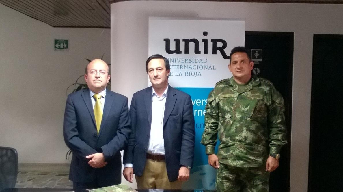 UNIR facilita a los militares colombianos una formación universitaria