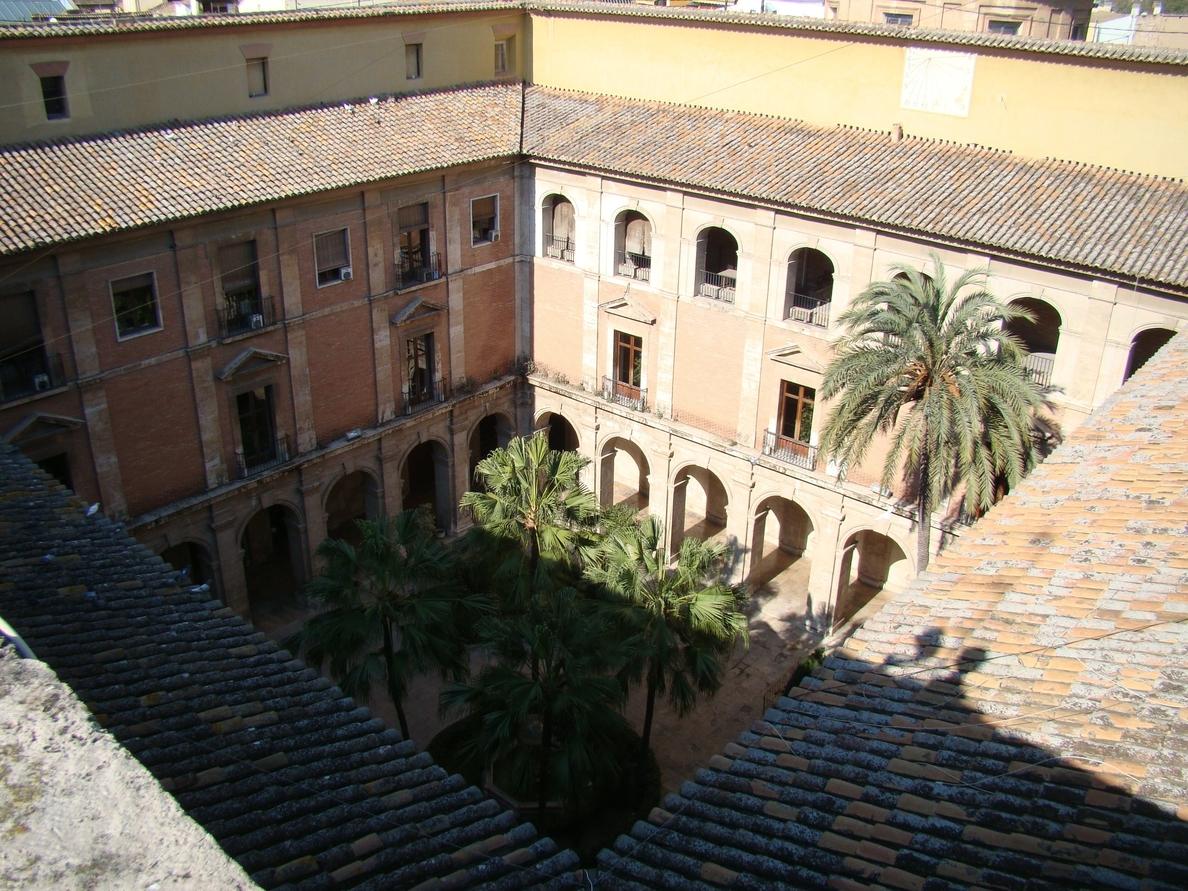 Se reanudan las obras de restauración del Palacio del Temple de Valencia