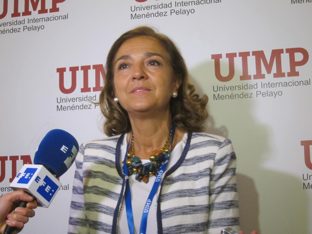 Carmen Vela alaba la elección de Canarias para acoger el CTA: «Queremos grandes infraestructuras rentables»