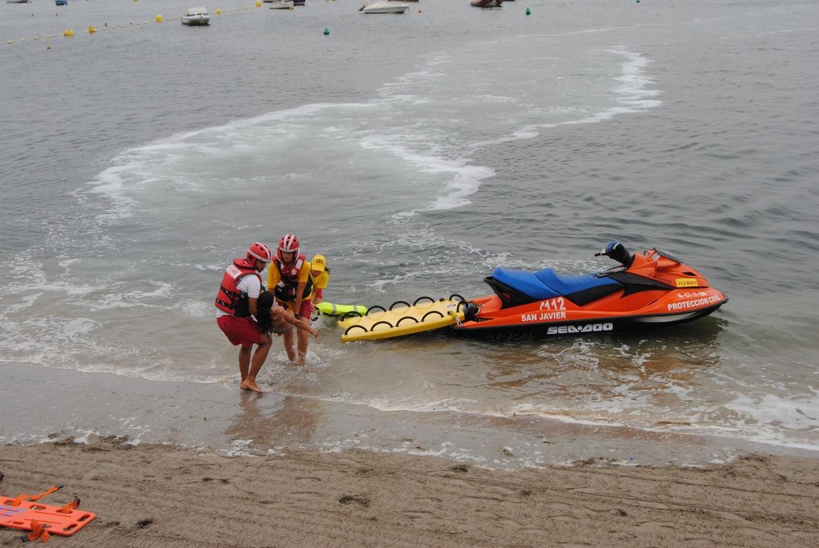 La Comunidad moviliza diariamente a más de 250 personas que velarán por la seguridad de las playas y las costas