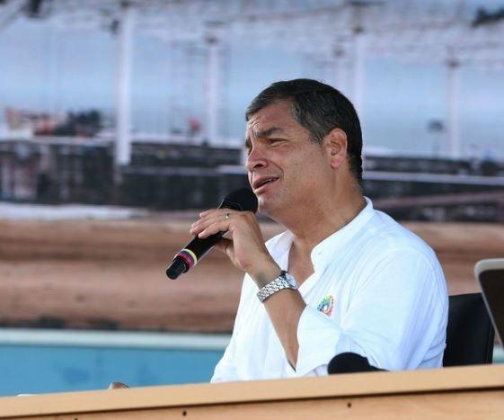 Correa critica la huelga convocada por la oposición para el 13 de agosto