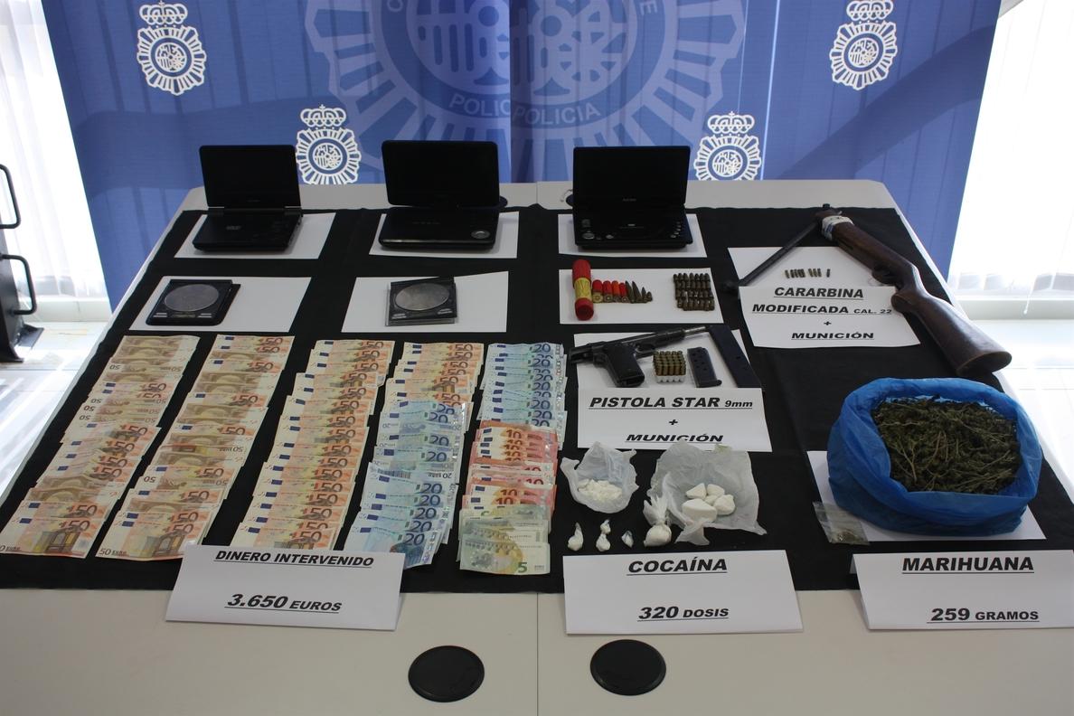 Desarticulado un clan familiar dedicado a la venta de droga en Plasencia