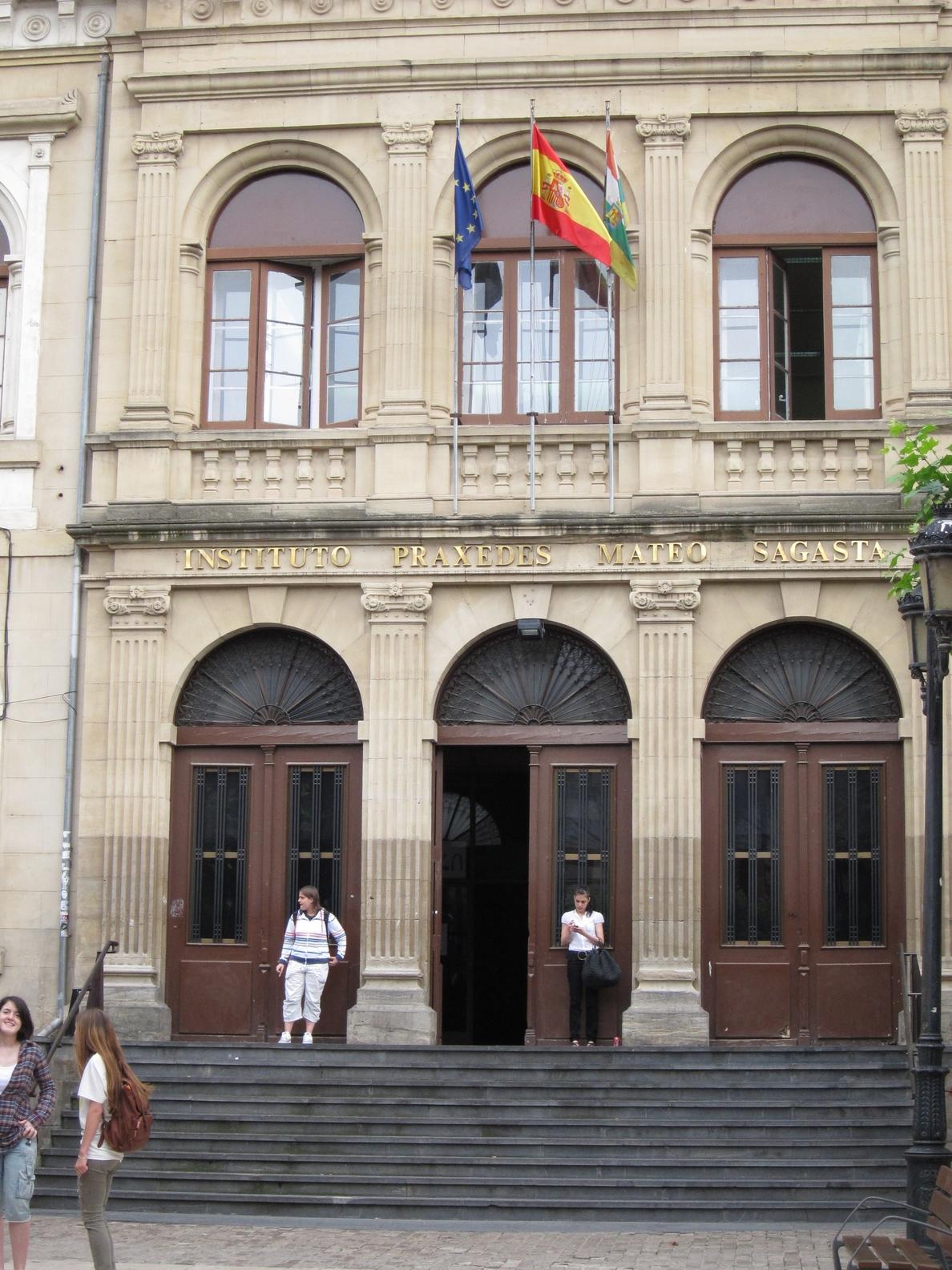 Educación licita de nuevo el contrato de colaboración técnica para la reforma del IES Sagasta