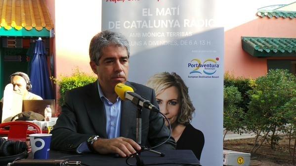 Homs habla de ajustarse a la «legalidad catalana» para la independencia y dice que «con Franco también había legalidad»