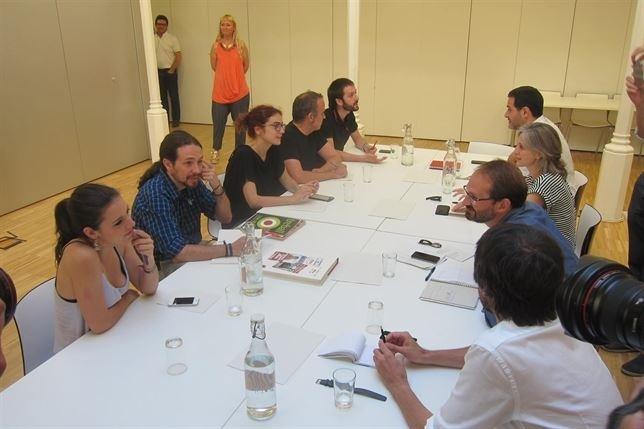 ICV ratificará el lunes su acuerdo con Podemos para ir juntos a las generales
