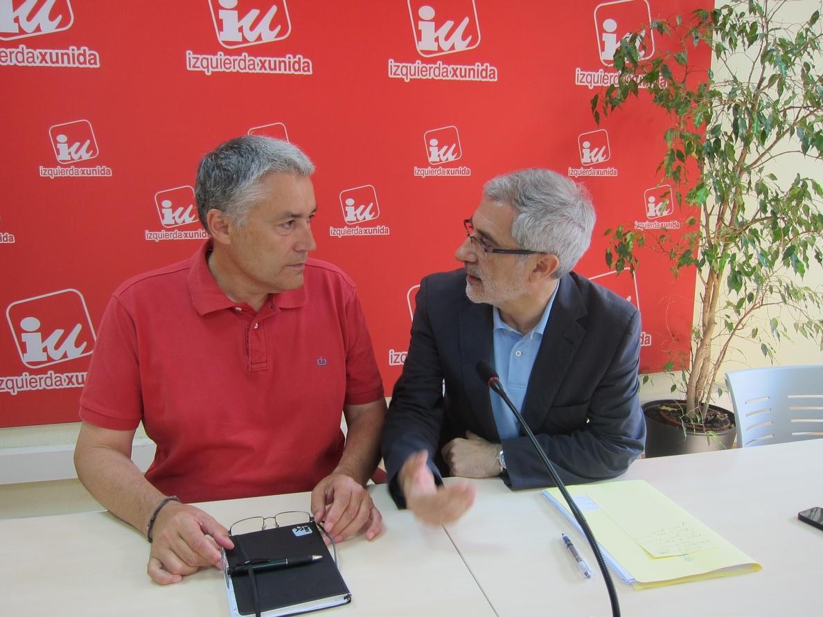 IU Asturias hace un «llamamiento angustioso» a Podemos para que aporte sus propuestas e impida hacer el ridículo