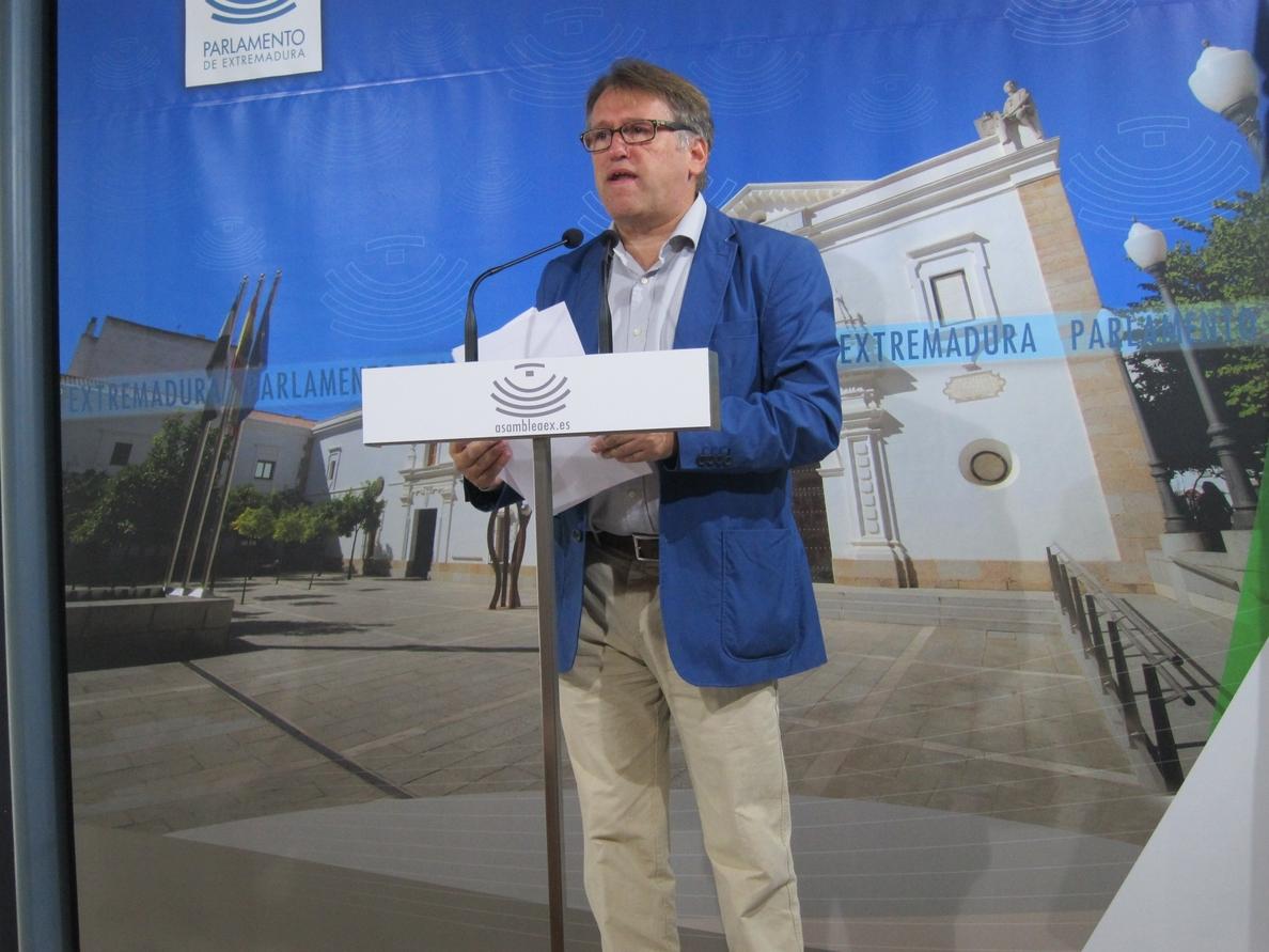 El PP pide a Vara que no paralice las obras de la Plataforma Logística de Badajoz porque es una «inversión productiva»
