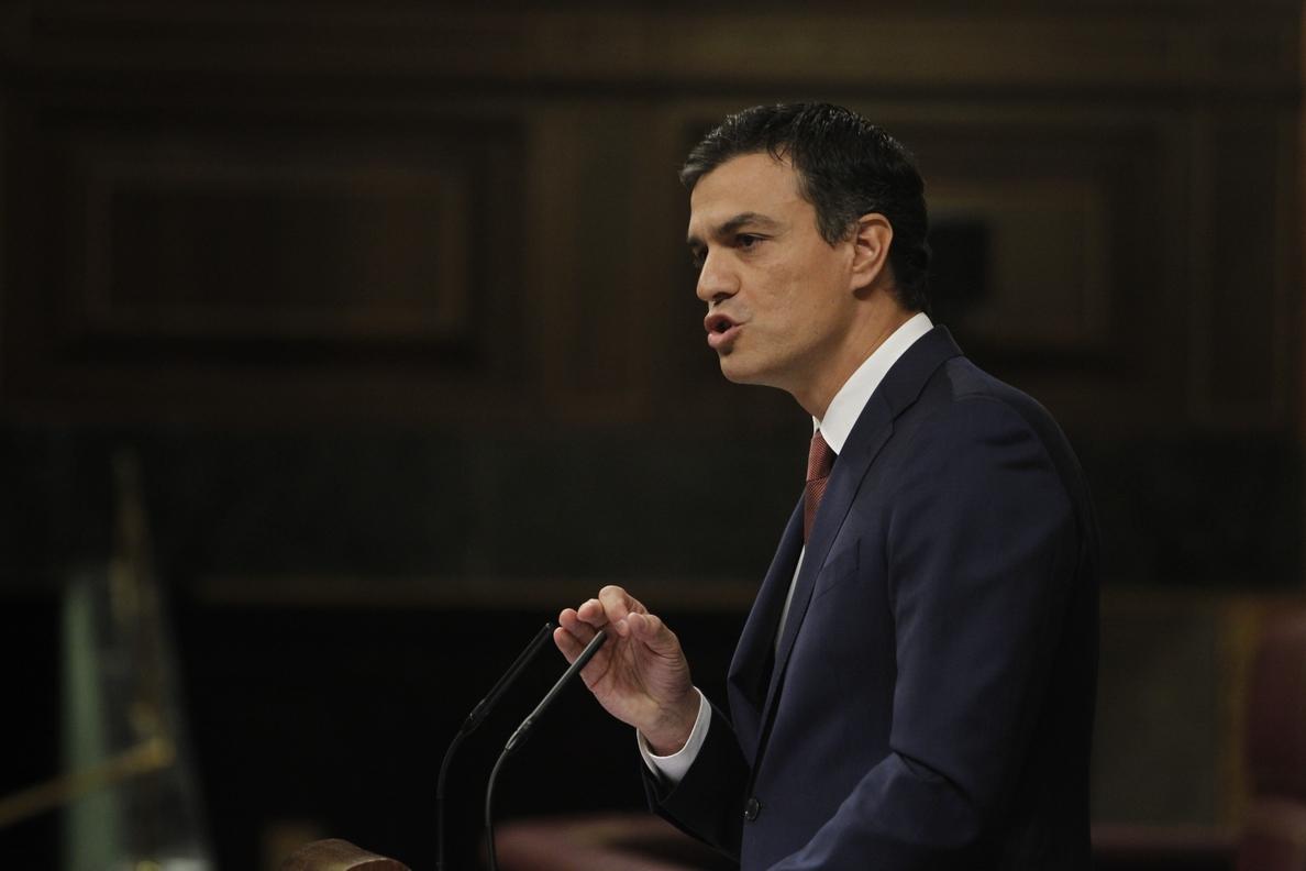 Sánchez (PSOE) buscará «escenarios de convivencia» sólo después de que ETA «se disuelva y desaparezca»