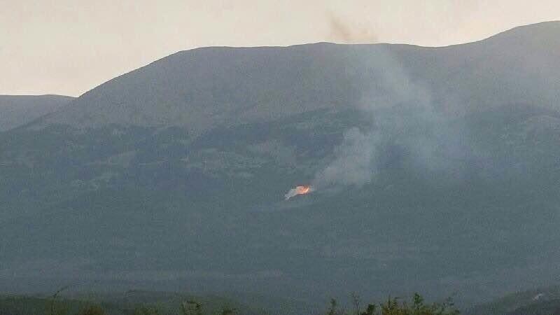 El incendio del Moncayo está en vías de extinción y quema dos hectáreas
