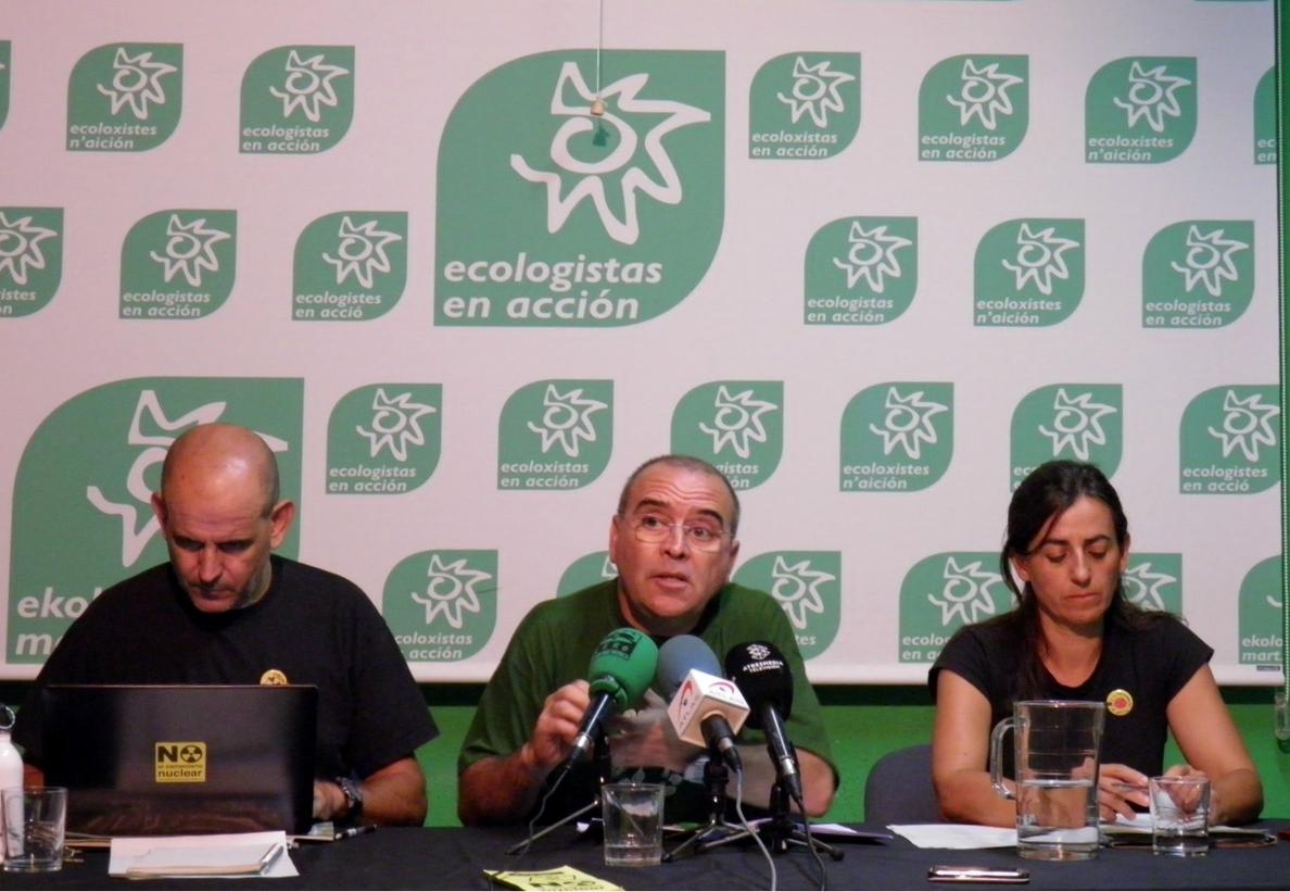 Ecologistas en Acción, Greenpeace y Oxfam Intermón demandan al Gobierno para exigir mayor ambición climático