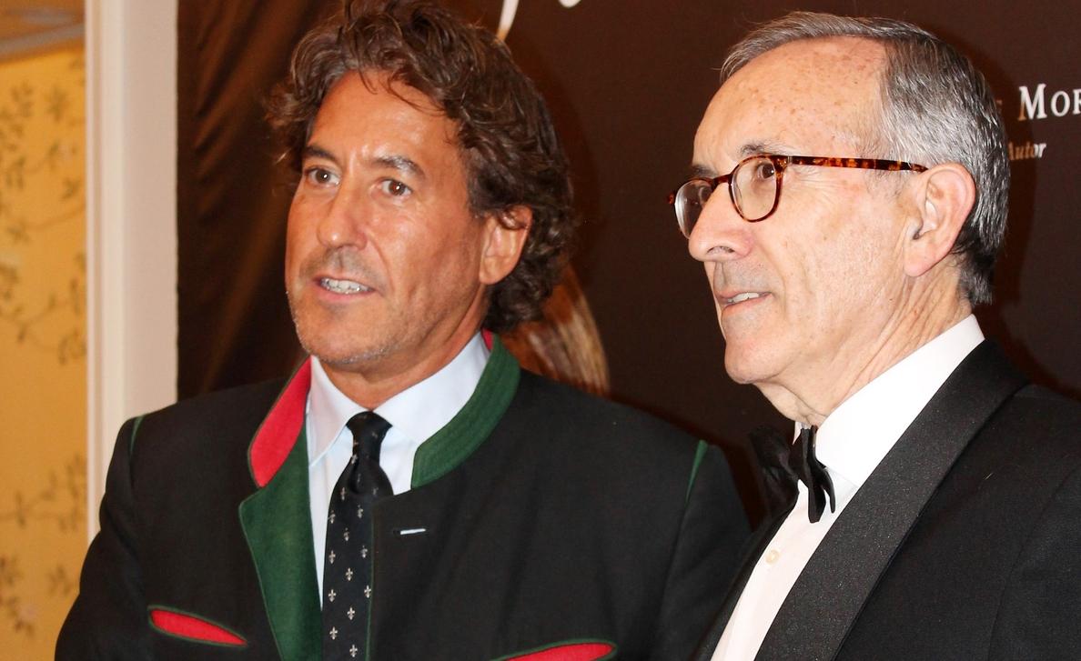 Álvaro de Marichalar, invitado de lujo en la presentación de la nueva línea de joyas de Jaime Moreno