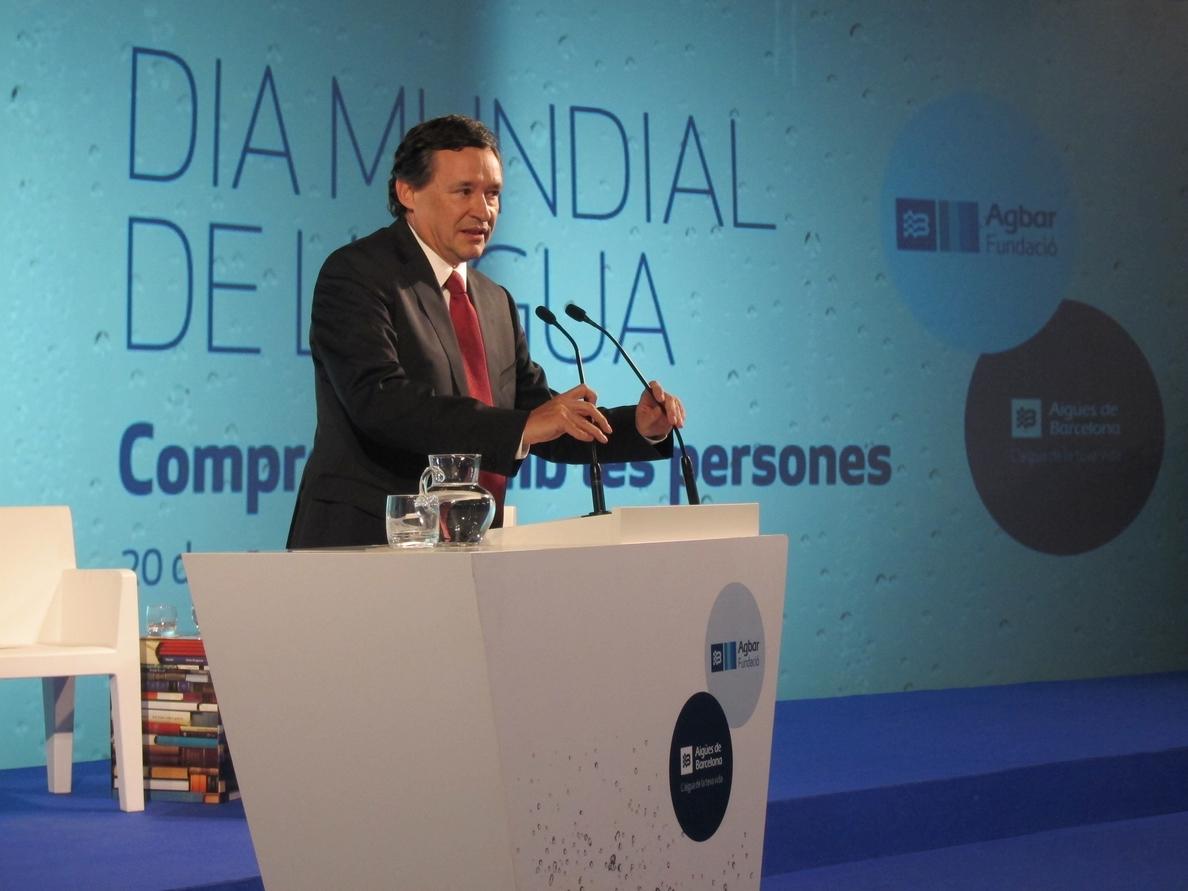 Ángel Simón presidirá el nuevo salón iWater Barcelona sobre el ciclo integral del agua