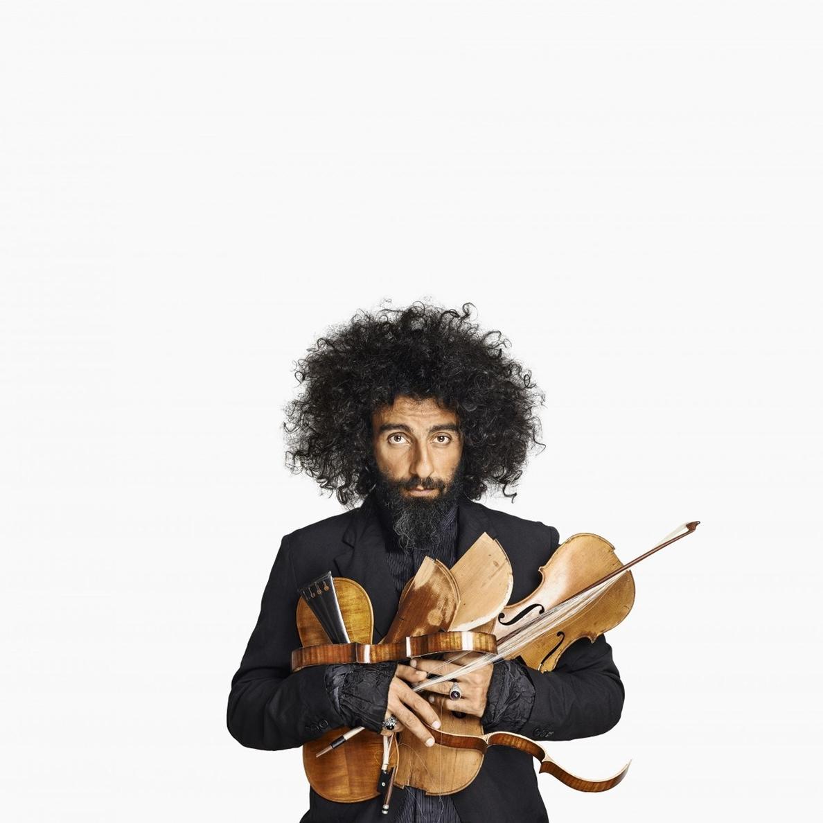 Ara Malikian actúa en el teatro Principal de Palencia dentro de la programación del otoño cultural