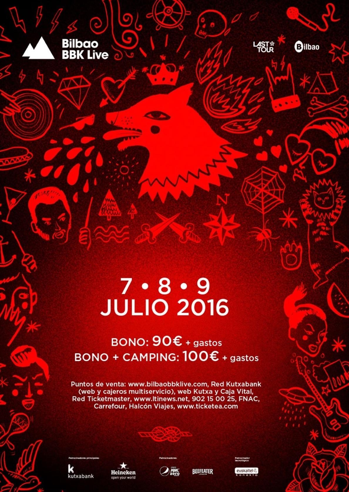 Bilbao BBK Live, nominado a los European Festival Awards y los UK Festival Awards