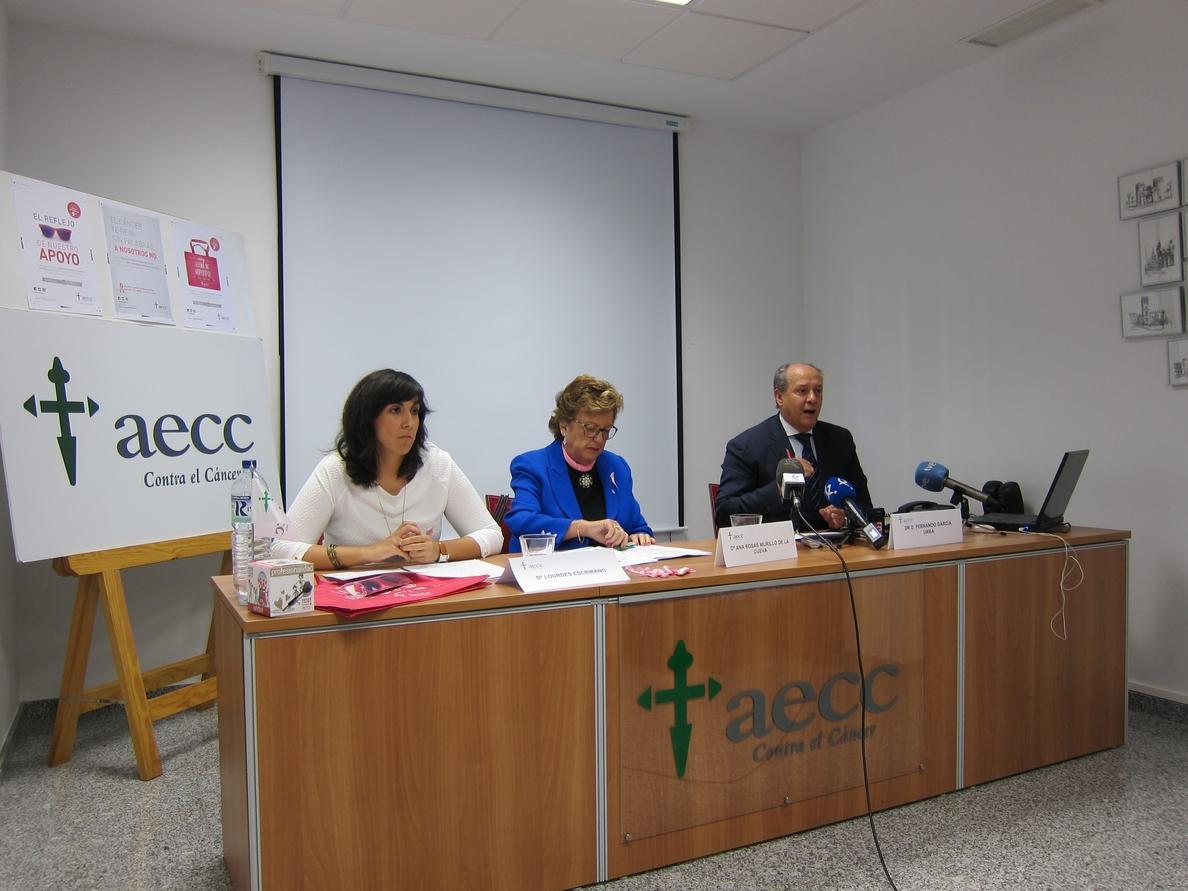 Extremadura registra unos 500 nuevos casos anuales de cáncer de mama