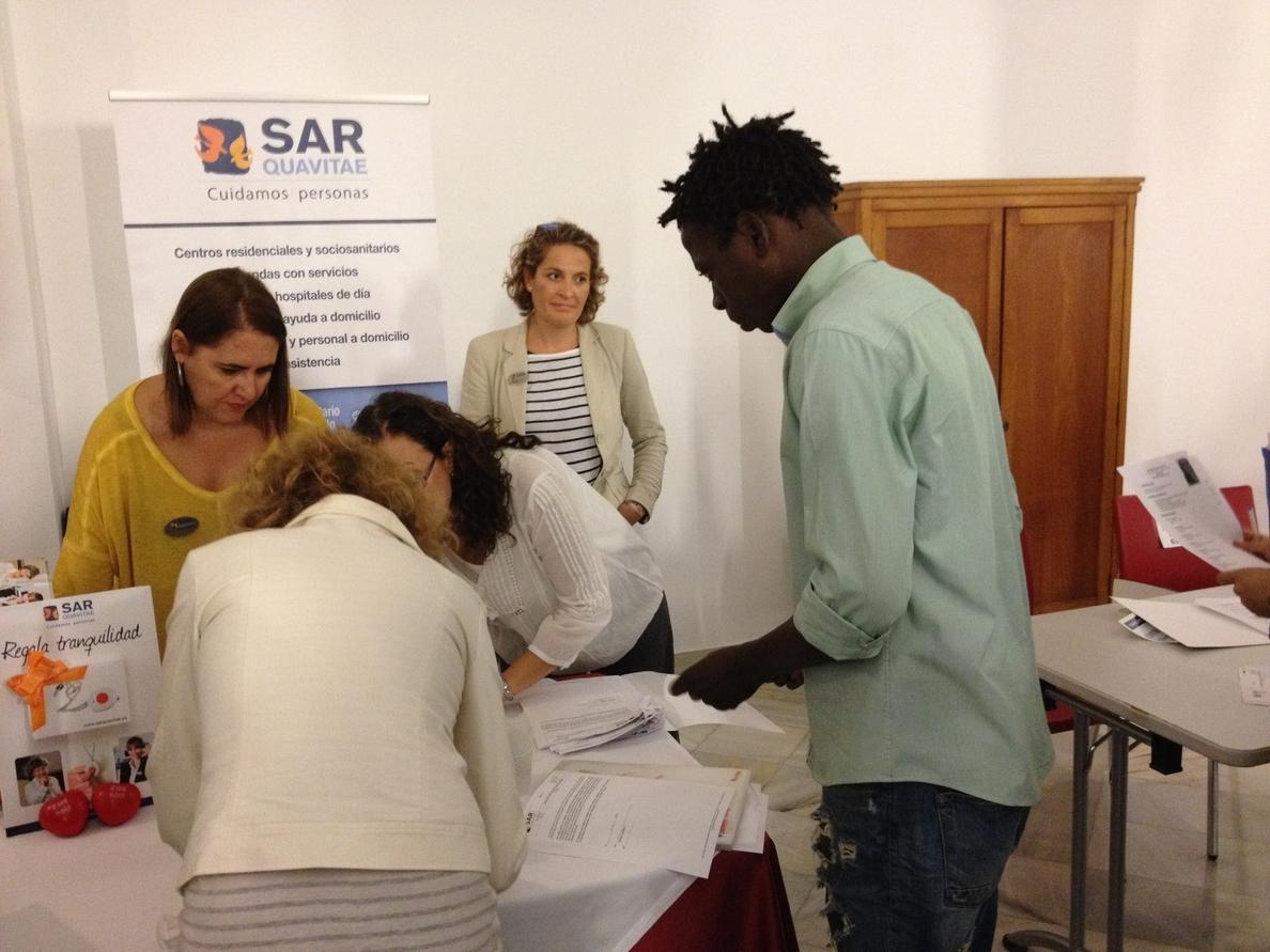 La I Feria de Empleo Red Sevilla Norte acerca la oferta de trabajo a parados en situación de exclusión laboral