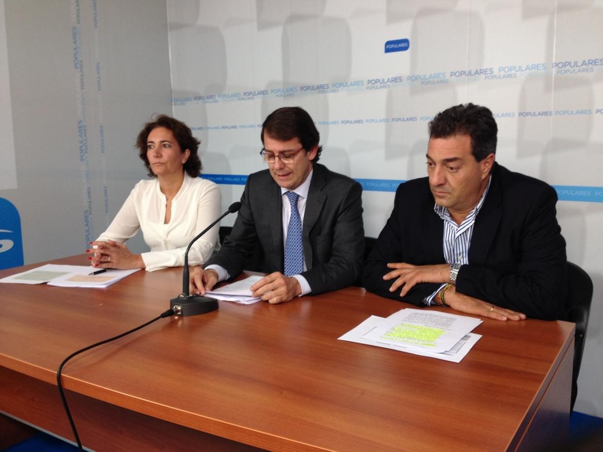 Fernández Mañueco asegura que son «coherentes» con las aspiraciones de Salamanca