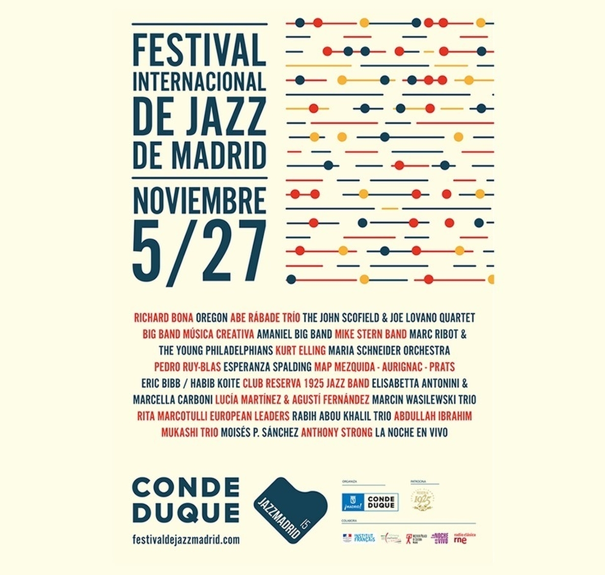 El Festival Internacional JazzMadrid»15 apuesta por jóvenes talentos y mujeres creadoras