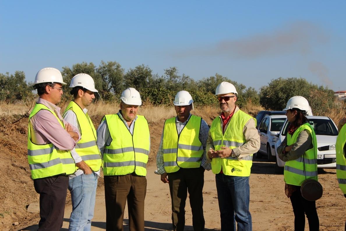La Junta invierte 121.000 euros en el camino »El Chaparral», en Belalcázar