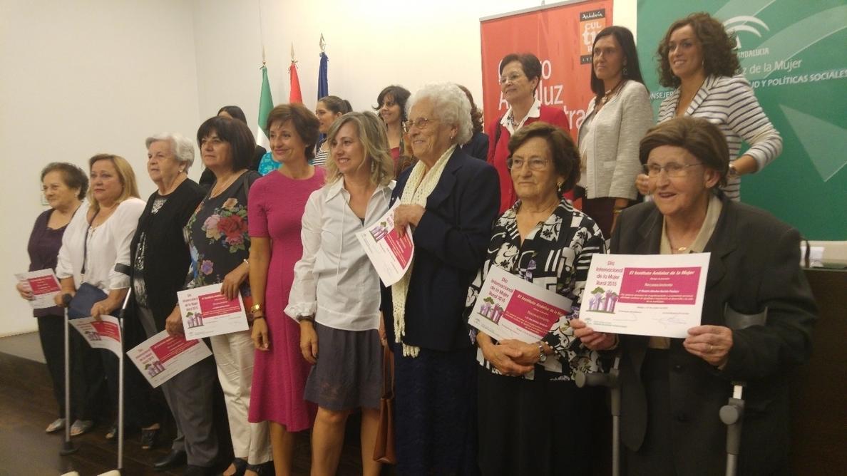 La Junta reconoce la labor de 15 malagueñas del medio rural por su contribución a la igualdad de género