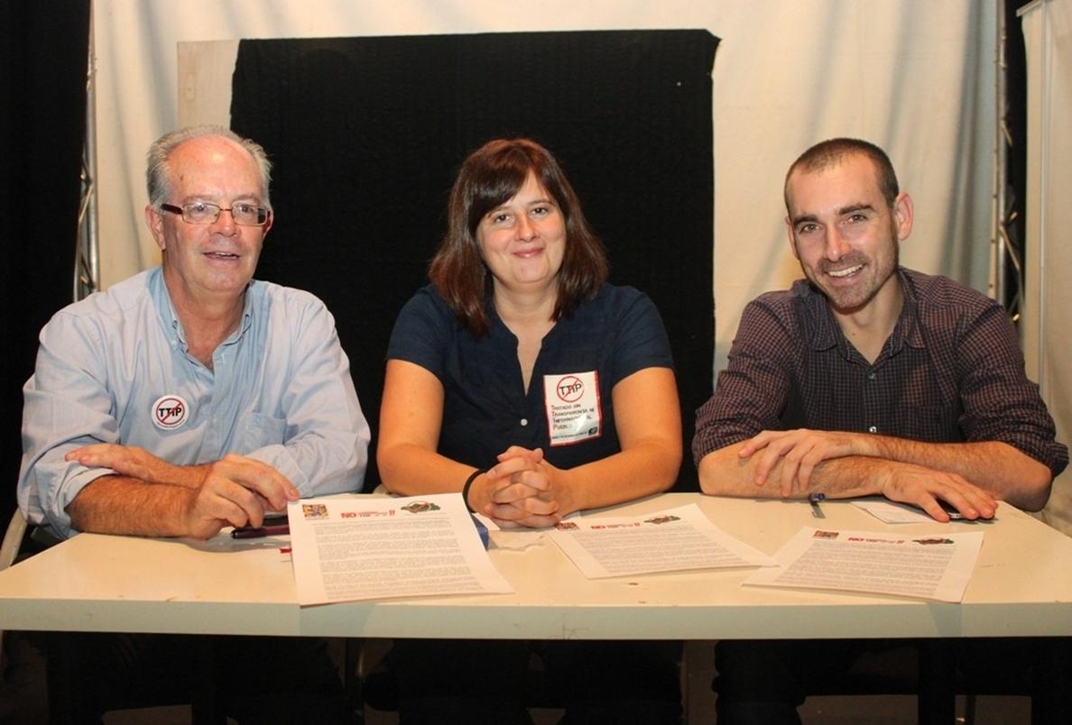 Organizaciones convocan para el sábado en Andalucía movilizaciones contra el Tratado de Libre Comercio UE-EEUU