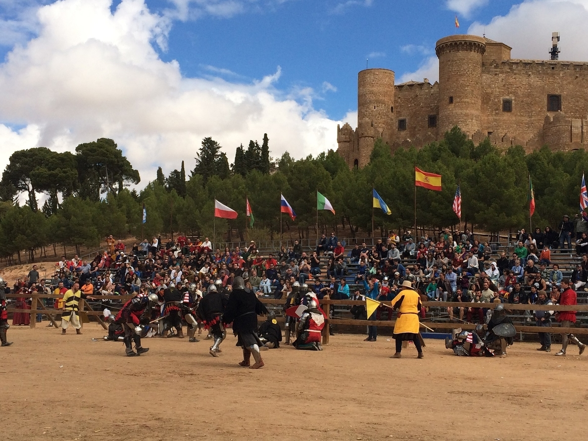 El equipo ruso Partisian 1 gana el I Torneo Internacional de Combate Medieval celebrado en el Castillo de Belmonte