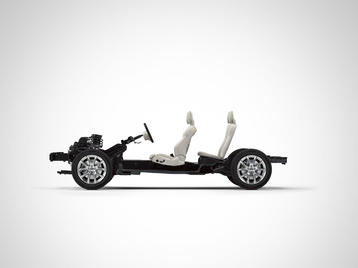 Volvo crea una plataforma modular para vehículos compactos