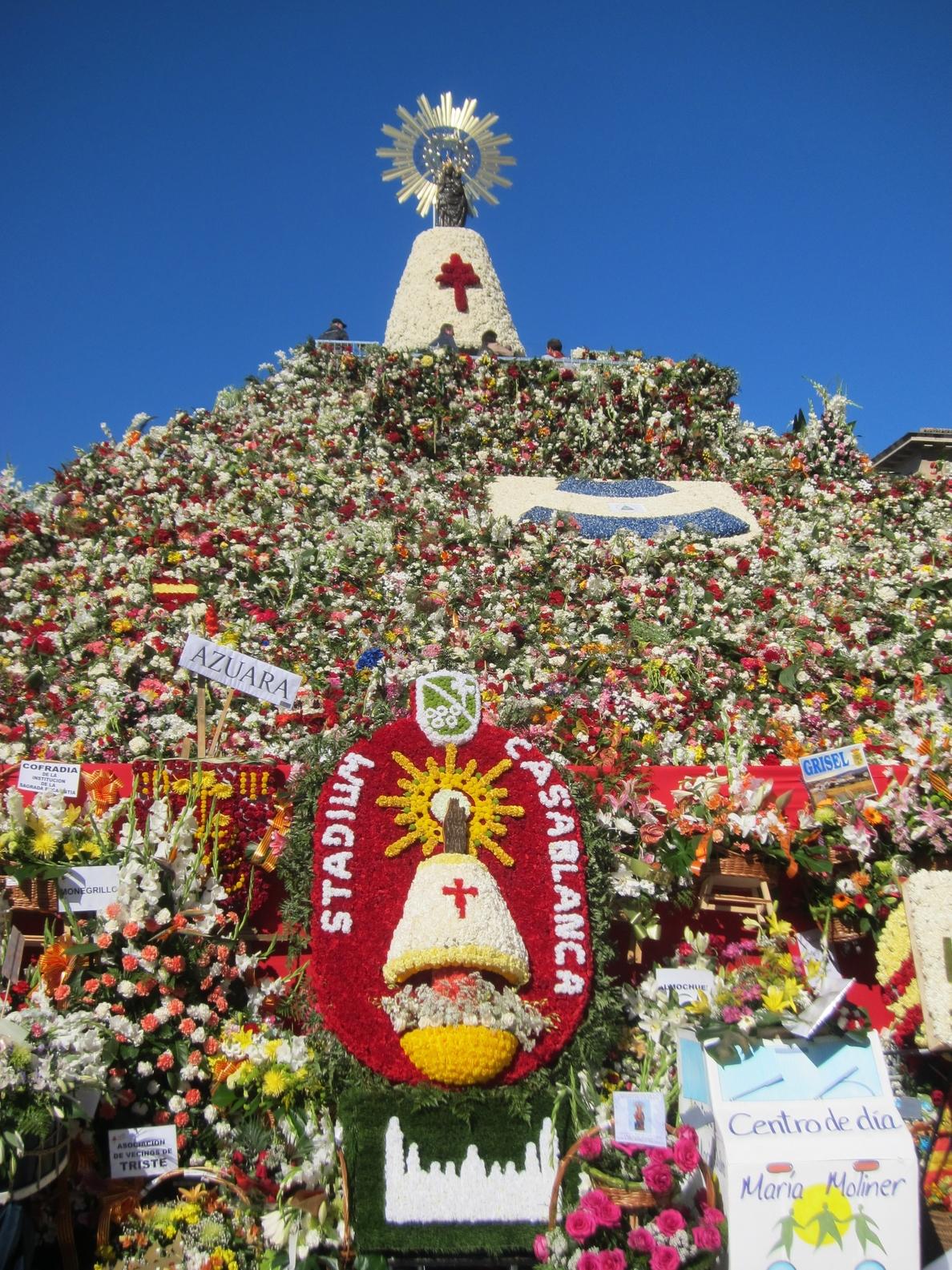 Agotadas las reservas de cita previa para inmortalizarse junto a la Virgen del Pilar