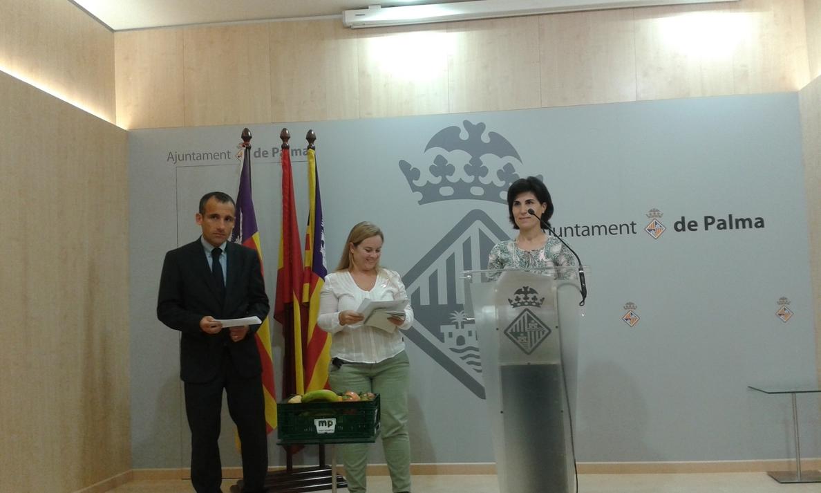 El Ayuntamiento de Palma prevé que 2.000 escolares se beneficien del programa »Desayuno Saludable» durante este curso