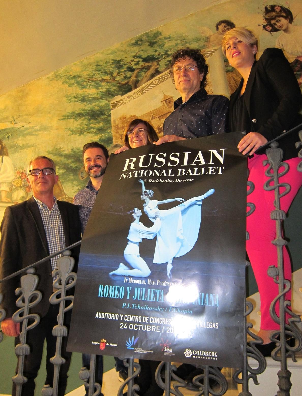 El Ballet Nacional Ruso abre la temporada de danza del Auditorio Víctor Villegas