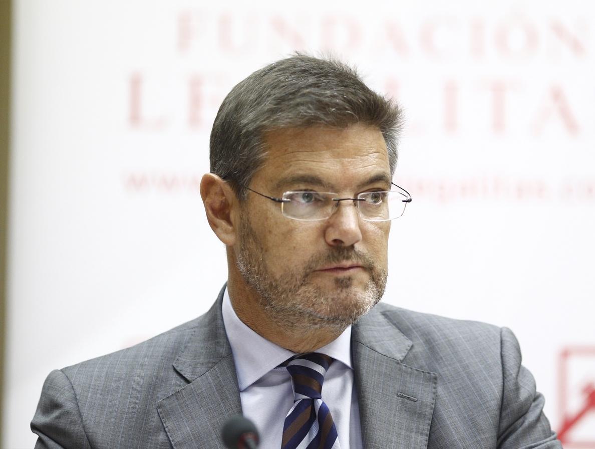 Catalá sobre la suspensión de la autonomía en Cataluña: «Si llegase el momento, habría que aplicar el artículo 155»