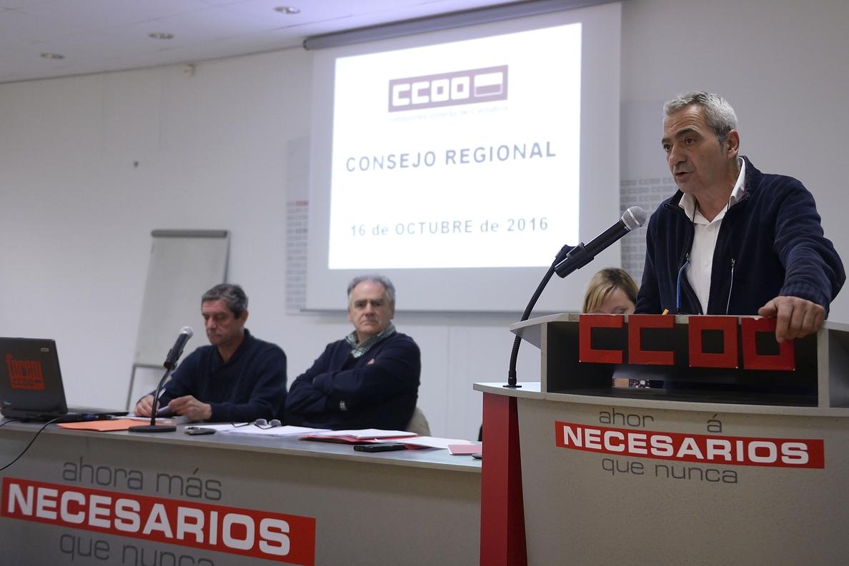 El Consejo de CCOO valora la recuperación del diálogo social y considera «urgente» un «giro social»