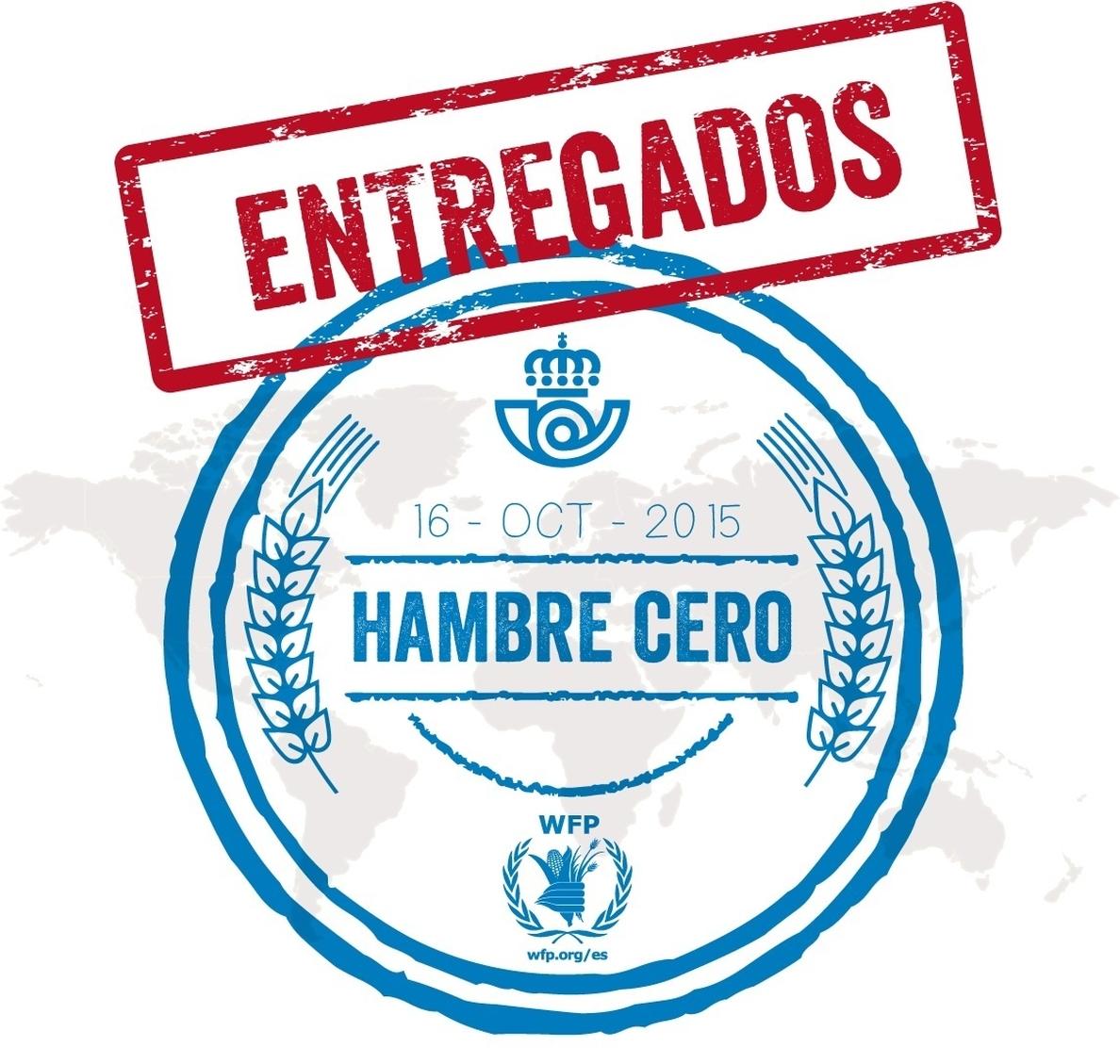 Correos acoge en su oficina principal de Madrid la exposición fotográfica »Entregados Hambre Cero»