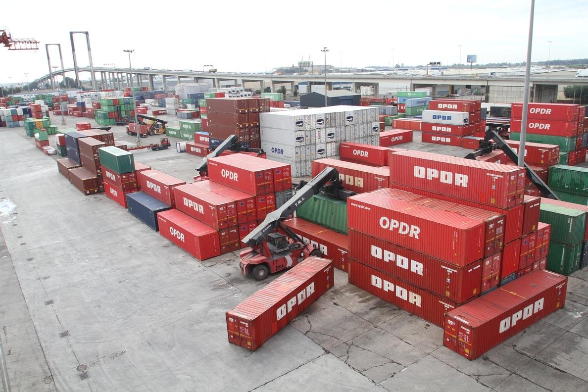 Crece durante el año un 5,22% el tráfico de mercancías del Puerto tras el «mejor septiembre» en una década