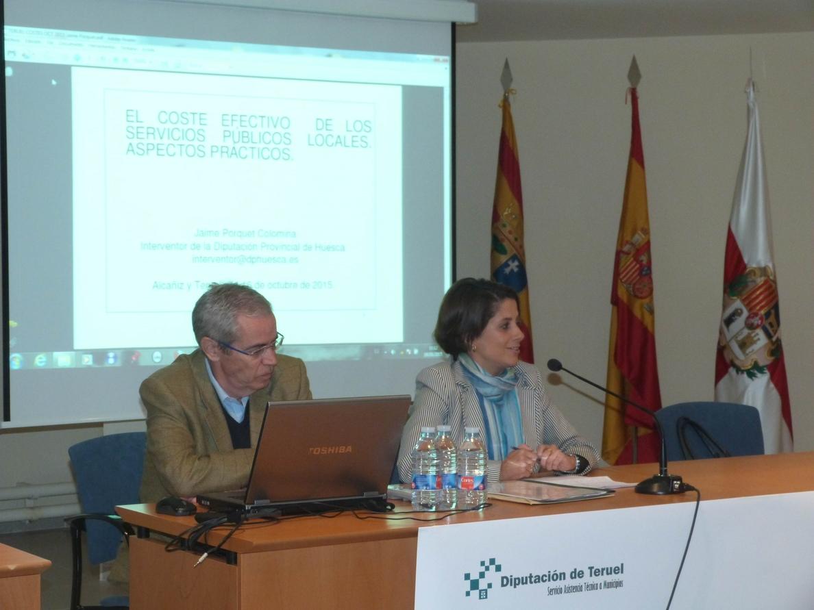 La Diputación de Teruel celebra una jornada sobre el coste efectivo de los servicios