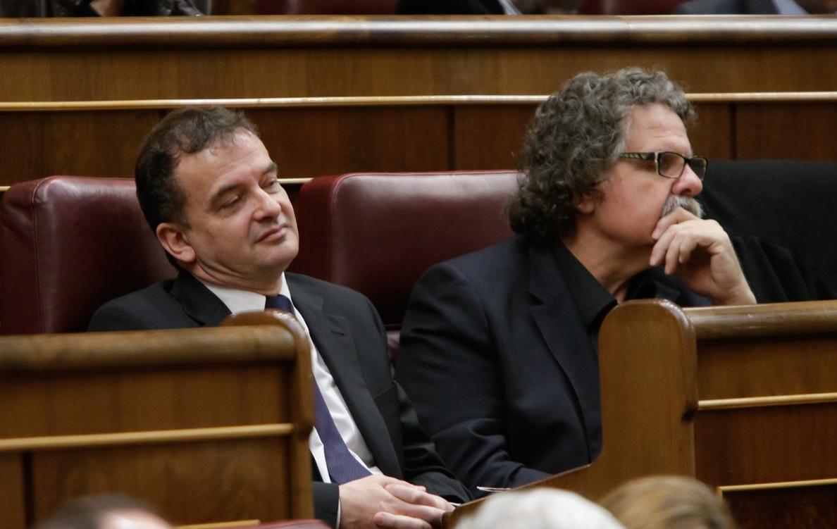 ERC lleva a votación al Congreso una propuesta para negociar la independencia de Cataluña